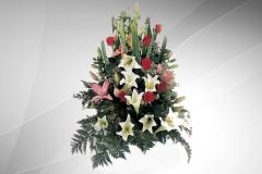 composizione fiori misti